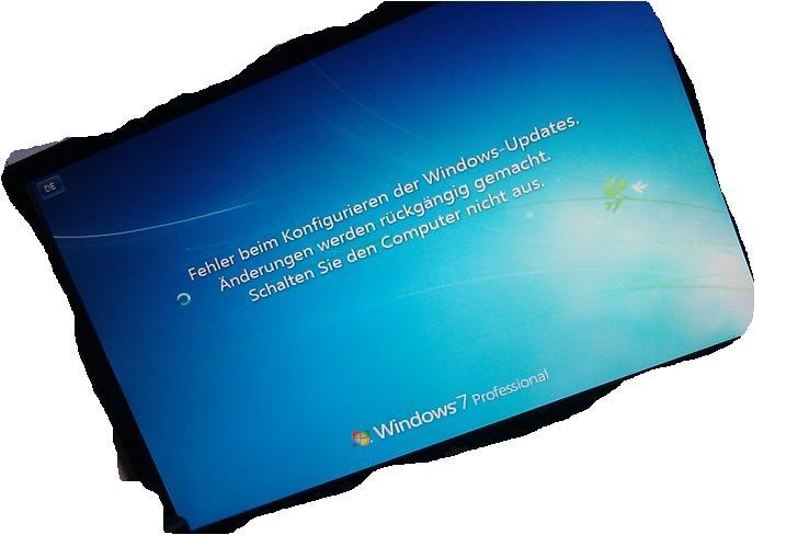 Windows 7 schwarzer bildschirm beim hochfahren