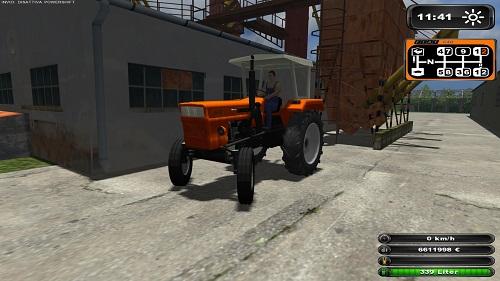 FIAT 640 váltós